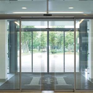 نصب درب شیشه ای اتوماتیک