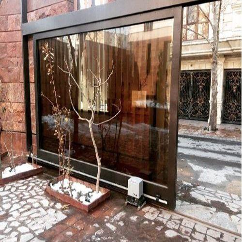 درب برقی ریلی ارزان